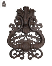 marteau de porte en fonte motif chevreuil Heurtoir style ancien
