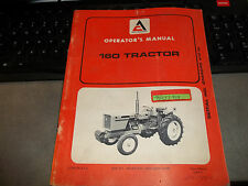 ALLIS CHALMERS 160 TRACTOR  OPERATORS MANUALS