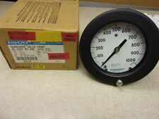 New Ashcroft DuraGauge Solid Front 1000 psi 45 1377 As 02B *Free Shipping*
