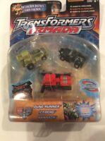 Transformers Armada Mini-Con Dune Runner Iceberg Ransack MOSC 2003 Unicron