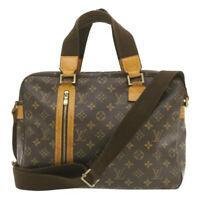LOUIS VUITTON Monogram Sac Bosphore 2Way Hand Bag M40043 LV Auth 19987