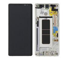 Samsung Galaxy Note 8 N950F LCD Amoled Display Touchscreen mit Rahmen Gold