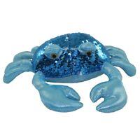 Adventure Planet Sequinimals Plush - CRAB (Sequin - Blue & Silver) (10 inch)