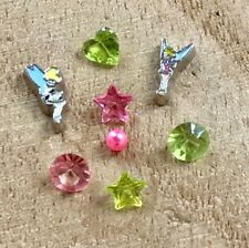 Floating Charms 8pc Tinkerbell Inspired Fairy Crystal for Floating Locket NEW