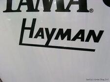 Hayman Black Replica Logo Replacement
