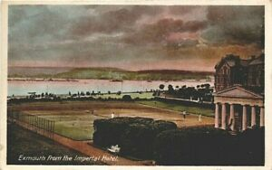 Devon,  EXMOUTH, from the Imperial Hotel, 1916