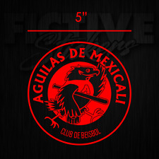 Aguilas de Mexicali Sticker Decal 5 inch RED ***FREE SHIPPING***