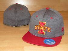 lowest price 502ee fb91a Iowa State Cyclones Dark Energy Flat Brim Flex Fitted Hat Cap Men s OSFM