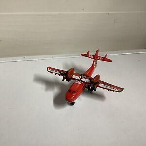 """Matchbox Rescue Plane Canyon Unit 2001 Mattel Diecast Toy 4.5"""""""