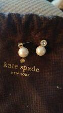 Kate Spade earrings ear rings earring ring pearl NYC New York diamond stud