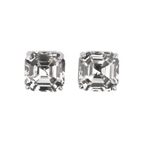 Authentic Origami Owl Ascher Empirial Cut Stud Earring w/ Swarovski Crystals