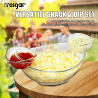 MEIGAR Fruits Snack Dish Salad Feeding Bowl Tableware Food Serving Container