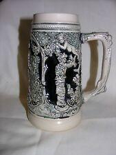 Vintage GERZ West Germany Glas Beer Stein Mug