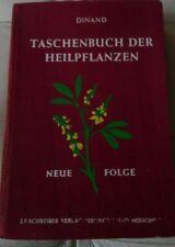 Dinand - Taschenbuch der Heilpflanzen, Neue Folge - Original 1943 - RARITÄT!