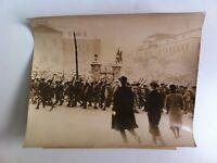 Foto Stampa Dei Truppe che Arrivano a Quartiere Generale da Tokio 18/03/1936
