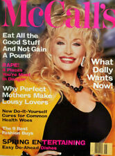 McCalls Magazine May 1992 Womens - Dolly Parton - Rape - Mothers - No Label NM