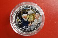 * Palau 1 dólares 2010 pp * Juan Pablo II./mezquita visita en damasco 2001