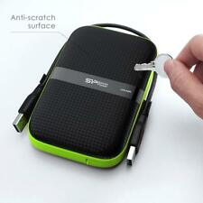 Silicon Power 2TB Armor A60 Military-Grade Shockproof, Water-Resistant USB 3.0