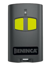 Beninca TO.GO2VA 2 channel  remote control (rolling code, frequency 433,92 MHz)