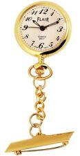 Reloj de la enfermera Dorado Analógica Metal Reloj de mujeres S-60547185226475