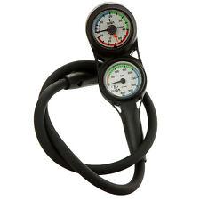 Tusa-PLANTINA TWIN immersioni subacquee gauges - 400 bar di pressione e profondità-SCA-230T
