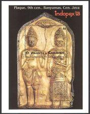 St Vincent 1993 Talla/Art/estatuas/mitos/Leyendas/stampex 1 V M/S (n40146)