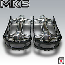 OLD SCHOOL BMX MKS PEDALS 9/16 BLACK NEW