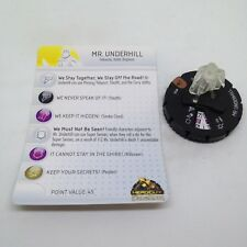 Heroclix Lord of the Rings set Mr. Underhill #024 Chase figure w/card!