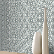 New Rasch Wallpaper Retro Geometric Design Pattern White & Grey