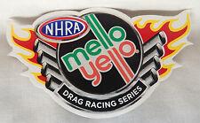 "NHRA Mello Yello Window Decal Sticker 3"" x 5.5"" Championship Drag Racing"