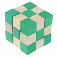 Kong Ming lock magic ruler Intelligence Lock Wooden Brain Teaser Puzzle  ToysFR