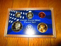 2002 Partial Proof Set 5 Coins U.S. Mint Plastic  No Box No COA