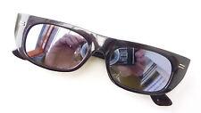 Rarità Anni '60 Occhiali da Sole Nilsol Italia Verspiegeltes Vero Vetro Nero