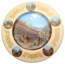 c1990 Seltmann Thanksgiving Vintage Christian Luckel Weinlese Erntedank CP1796