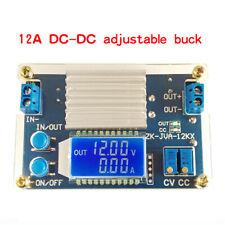 12A LCD Display Adjustable Step Down Power Supply Module CC CV Converter DC-DC