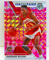 Dominique Wilkins 2019-20 CAMO PINK MOSAIC PRIZM Hall of Fame Card #294 Hawks