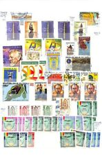 [OP9534] Mali lot of stamps on 12 pages