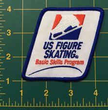 """US Figure Skating patch USFSA Basic Skills Patch 3"""" tall usfsa skating patch"""