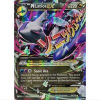 M Latios EX 59/108 Ultra Rare Pokemon Englisch NM/Mint
