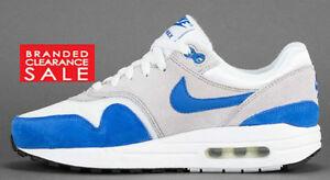 BNIB New Boys Nike Air Max 1 Grey Blue Size 5 UK