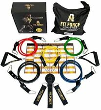 Fit Force Athletics Exercise Resistance Bands Set NEW IN BOX