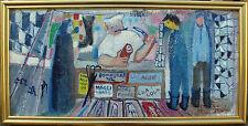 Sven-Erik Storm 1905-1990, Metzger mit Kunden, um 1950/60