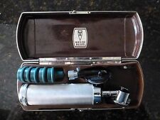 Vintage WELCH ALLYN OPHTHALMOSCOPE Otoscope 106 with Speculums & Case