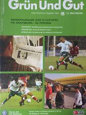 Hamburger SV Programm 2000//01 VfL Wolfsburg