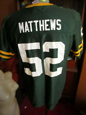 Boy's XL MENS SMALL NFL Green Bay Packers #52 Clay Mathews Jersey