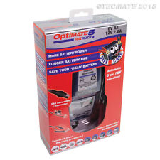 Optimate 5 Voltmatic 6v and 12v Battery Charger Maintainer 2017 Model (New)