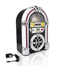 New Pyle Bluetooth Jukebox MP3 Player LED Lighting, AM/FM Radio, USB/SD Aux In
