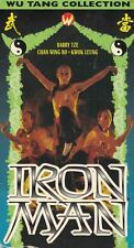 Iron Man VHS/EP, 1998, Wu Tang II Collection Barry Tze Chan Wing Bo Kwok Leung