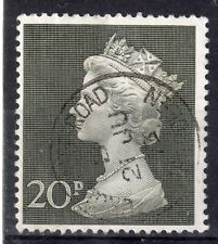 GB = POSTMARK - QE2 era, `ABERDEEN` 1973 Single Ring. 20p Tall Machin.