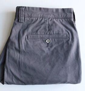 "Duluth Trading ""Ballroom"" Shorts, Gray, Size 34, 8-inch Inseam, Stretch Cotton"